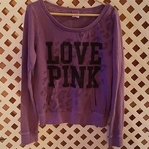 Women's Victoria's Secret Pink Large Sweatshirt